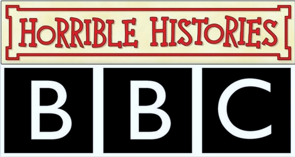 Horrible Histories and BBC logo
