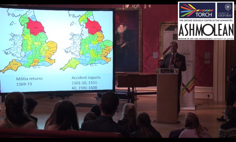 Accidental death in Tudor England_SJ Gunn_Ashmolean talk_with logos