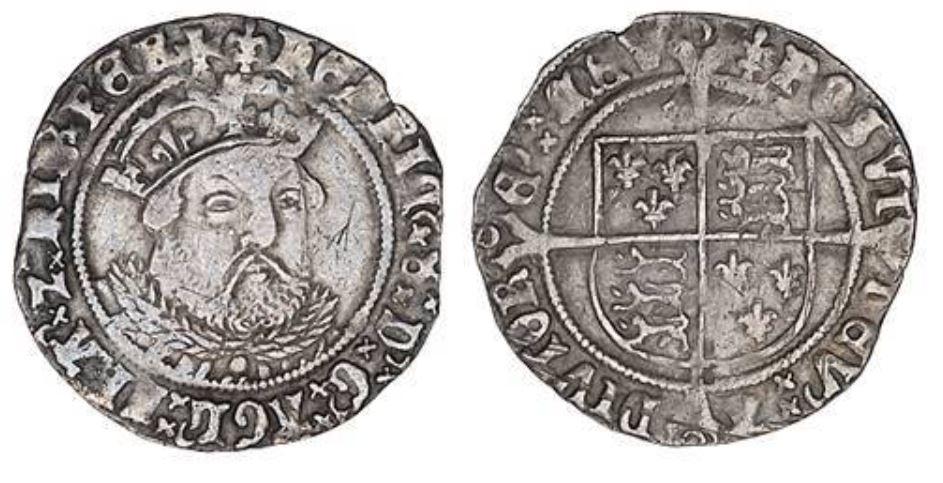 Henry VIII groat