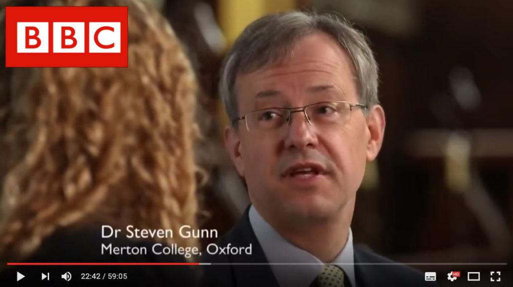 Hidden Killers of Tudor Home_Sj Gunn_with BBC logo